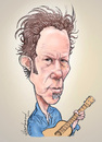 Cartoon: Tom Waits (small) by Harbord tagged tom,waits,caricature