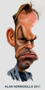 Cartoon: Hugo weaving (small) by Alan HI tagged hugo,weaving