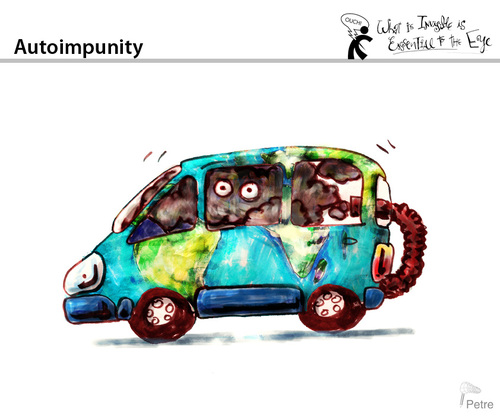 Cartoon: Autoimpunity (medium) by PETRE tagged polution,ecology,earth,air