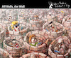 Cartoon: All Walls The Wall (small) by PETRE tagged socialnets,facebook,tweeter,communication