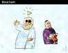 Cartoon: Blind Faith (small) by PETRE tagged religion,pederasty
