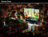 Cartoon: Game Over (small) by PETRE tagged video,games,play,nintendo