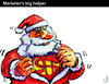 Cartoon: MARKETER-s BIG HELPER (small) by PETRE tagged christmas,santa,claus,capitalism,consumism