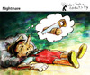 Cartoon: Nightmare (small) by PETRE tagged pinocchio dreams