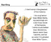 Cartoon: Ran King (small) by PETRE tagged personalities,masters
