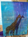 Cartoon: Color giraffes (small) by andriesdevries tagged giraffe giraffes painting
