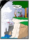 Cartoon: Brexit und Hopp (small) by Trumix tagged brexit,exit,gb,little,great,britain,trummix,england,ausstieg