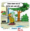 Cartoon: Sommer 2012 (small) by Trumix tagged sommer,regen,2012,rummix,wetter,summer,herbst