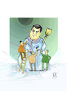 Cartoon: Dodik Milorad (small) by Hule tagged bosnien,und,herzegovina