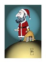 Cartoon: Halit Ergenc (small) by Hule tagged hapyy,new,year