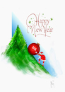 Cartoon: Happy New Year (small) by Hule tagged happy