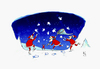 Cartoon: like (small) by Hule tagged happy,new,year