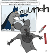 Cartoon: 2figuren 1panel (small) by darkoarts tagged batman,comicfiguren,star,wars
