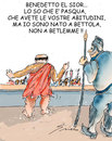 Cartoon: THE PASSION (small) by Grieco tagged grieco,bersani,pasqua,processo