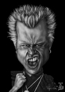 Cartoon: Billy Idol (small) by RyanNore tagged billy,idol,caricature,photshop,mypaint