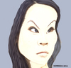 Cartoon: Lucy (small) by nommada tagged lucy,liu