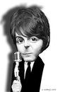 Cartoon: Paul McCartney (small) by nommada tagged mccartney,the,beatles