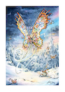 Cartoon: Butterfly and tortoice (small) by Nick Lyons tagged watercolour,painting