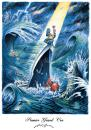 Cartoon: Wine Premier Grand Cru (small) by Nick Lyons tagged wine,vin,wein,vine,boat,ship,sea,water,captain,waves