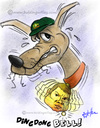 Cartoon: Ian Bell England (small) by crowpoint tagged india,sachin,tendulkar,ian,bell,lillee,cricket,ashes,fast,bowling,bodyline,aussie,australia,england,clarke,urn,oval