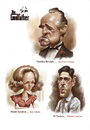 Cartoon: The Godfather (small) by Amir Taqi tagged the godfather
