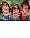 Cartoon: Bee Gees (small) by litjens999 tagged beegees,gibb,popmusic