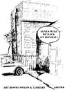 Cartoon: Agnes will be back on Monday (small) by jjjerk tagged agnes,ireland,irish,cartoon,coolock,library,dublin,car
