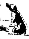 Cartoon: Give me the paw (small) by jjjerk tagged paw dog broken dalmatian cartoon animal caricature