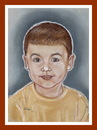 Cartoon: Cristi R (small) by Kidor tagged child kidor