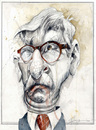 Cartoon: thilo sarrazin (small) by Hoppmann tagged politiker,deutscher,spd,bundesbank,berlin,immigration,provokateur