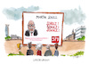 Cartoon: martin schulz (small) by plassmann tagged spd,martinschulz,kanzlerkandidat,wahlen,koalition