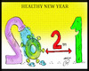 Cartoon: healthy new year (small) by Hossein Kazem tagged healthy,new,year