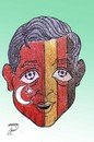 Cartoon: Mesut Ozil (small) by Hossein Kazem tagged mesut ozil