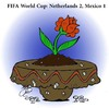 Cartoon: Netherlands 2 Mexico 1 (small) by Hossein Kazem tagged netherlands,mexico