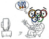 Cartoon: olympic medals (small) by Hossein Kazem tagged olympic,medals