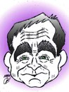 Cartoon: Robin Williams dead (small) by Hossein Kazem tagged robin,williams,dead