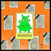 Cartoon: wanted corona (small) by Hossein Kazem tagged wanted,corona