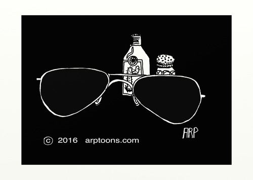 Cartoon: Glasses (medium) by tonyp tagged arp,glasses,drink,drinking,booze