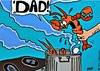 Cartoon: Lobster pot with Dad (small) by tonyp tagged arp,lobster,pot,boil,dad,arptoons