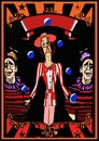 Cartoon: Poster blank (small) by tonyp tagged arp,circus,tall,man,poster
