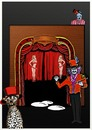 Cartoon: Special Display Event (small) by tonyp tagged arp,circus,special,arptoons,magic