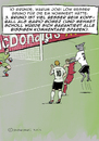 Cartoon: Bruno muss zur EM Teil 3 (small) by dogtari tagged europameisterschaft,fußball,bruno,dogtari,daily,cartoon,webcomic,podolski,klose,gomez