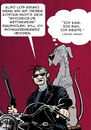 Cartoon: Wahlwerbung (small) by dogtari tagged terminator,bruno,dogtari,great,dane,halloween