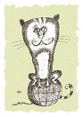 Cartoon: The top of the world (small) by weiszb tagged cat hank
