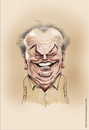 Cartoon: Jack Nicholson (small) by leandrofca tagged caricature