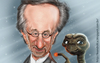 Cartoon: Steven Spielberg (small) by leandrofca tagged caricature