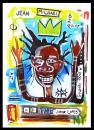 Cartoon: Jean Michael Basquiat (small) by juniorlopes tagged basquiat