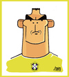 Cartoon: Lucio (small) by juniorlopes tagged brazil,football