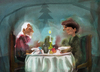 Cartoon: merry christmas... (small) by ivo tagged wow