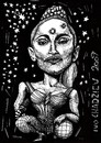 Cartoon: pri - madonna (small) by ivo tagged wau